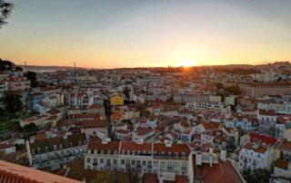 Lisabon, Miradouro de Santa Luzia vidikovac