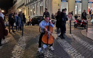 Lisabon, Bairro Alto - ulični muzičar