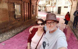 Lisabon, Cais do Sodre - pink street