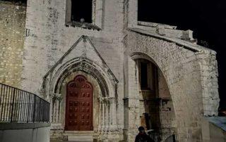 Lisabon, Alfama - Convento do Carmo