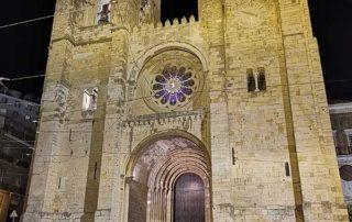 Lisabon, Alfama - Se Cathedral