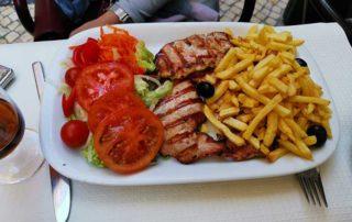 Lisabon, restorani, hrana