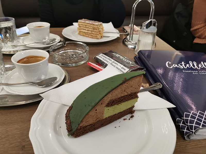 Mocart torta u poslastičarnici Castelletto - Beč