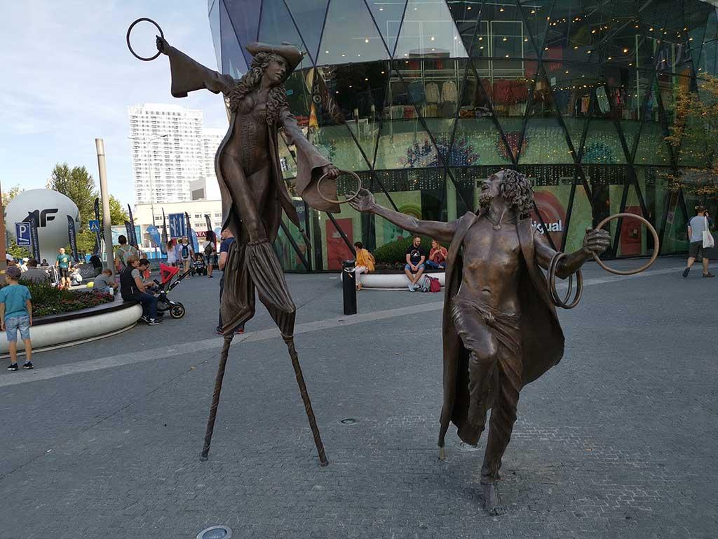 Bratislava - skulpture