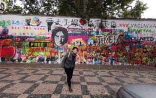 Prag, Lenonov zid