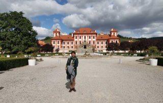 Prag, Trojski dvorac